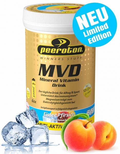 MVD - Mineral Vitamin Drink EISTEE - SPORT ICETEA Pfirsich 300g Getränkepulver