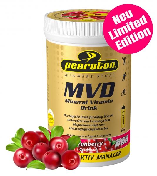 MVD Mineral Vitamin Drink Peeroton Cranberry 300g