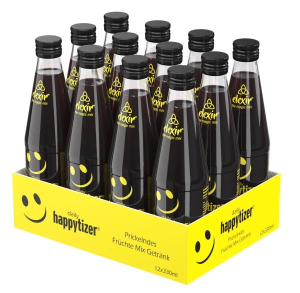 elexir Happytizer 330ml 12er Tray the magic Mix