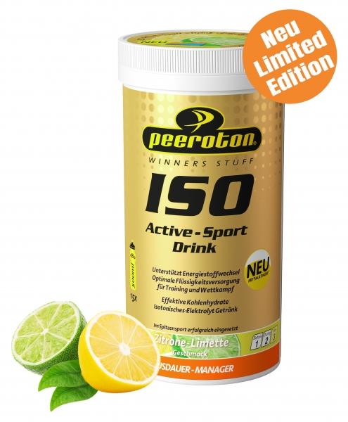 Peeroton ISOACTIVE Zitrone Limette 300g