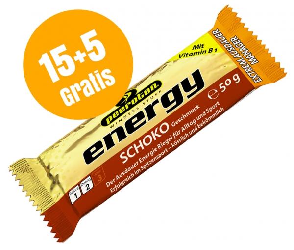 ENERGY Riegel 50g Karton 15+5 Gratis