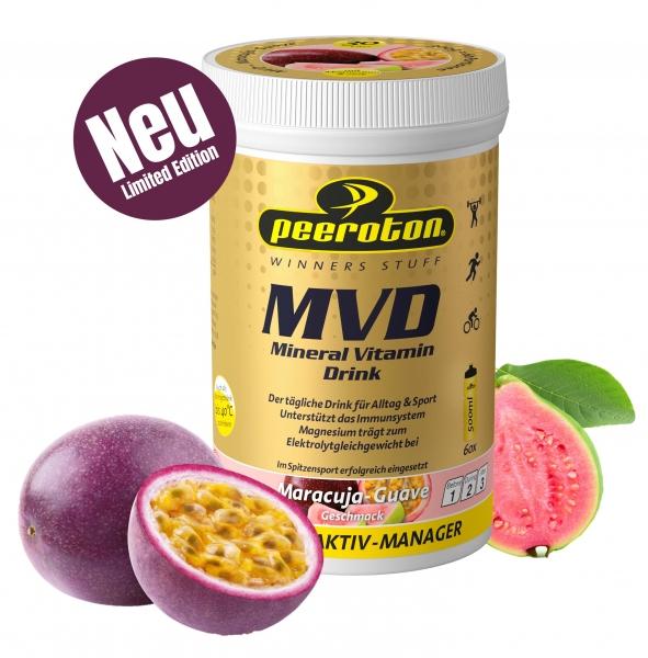 MVD Mineral Vitamin Drink Maracuja Guave 300g Limited Summer Edition