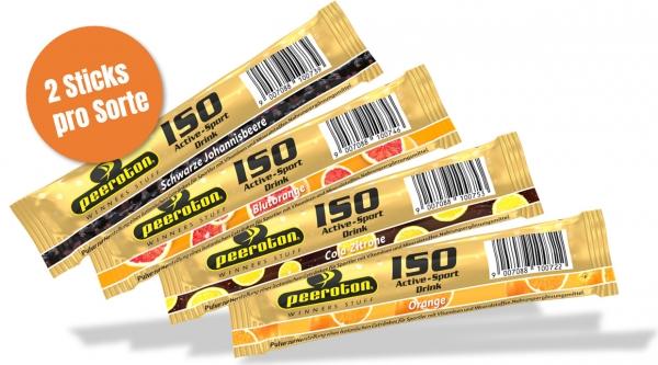 Peeroton ISO Active Sportdrink Probierset 8 Sticks