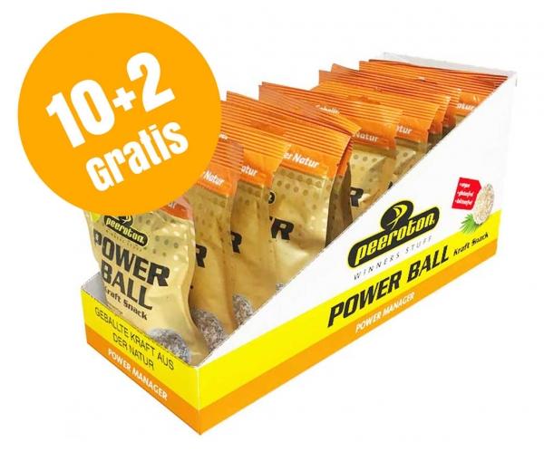 POWERBALL Kraftsnack 50g Karton 10+2 Gratis