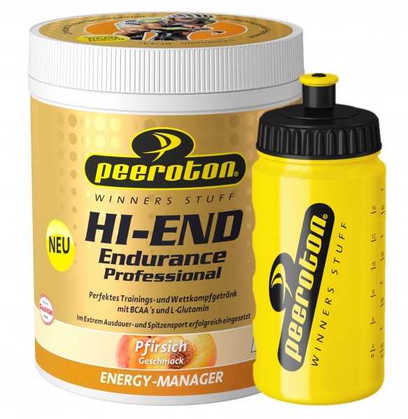 Christoph Strasser HI- END Endurance Energy Drink Professional 600g Pfirsich