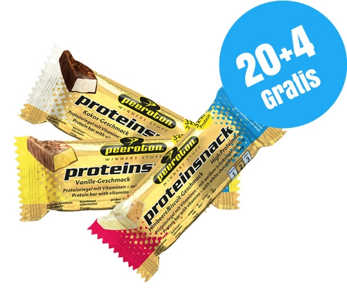 PROTEINSNACK Riegel 35g Mix-Karton 20+4 Gratis