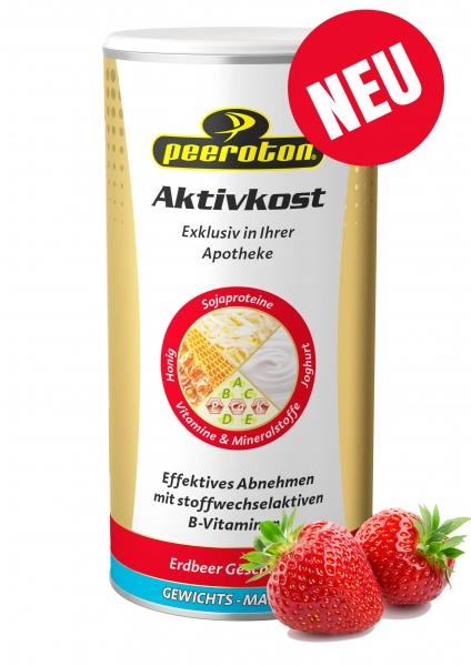 Peeroton Aktivkost Erdbeere
