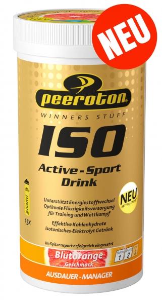 NEU:  ISO - ACTIVE - SPORTDRINK 300g