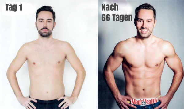Sixpack in 66 Tagen - PIMP YOUR BODY