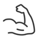 Muskeln und Masse mit Klasse