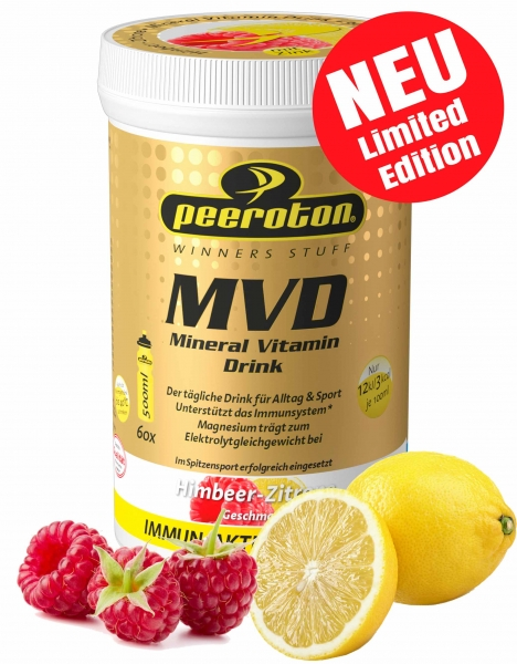 Peeroton MVD Mineral Vitamin Drink Himbeere Zitrone
