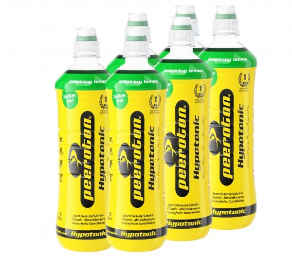 Peeroton Hypotonic Sportdrink Inspiring Lemon 6x750ml Sixpack