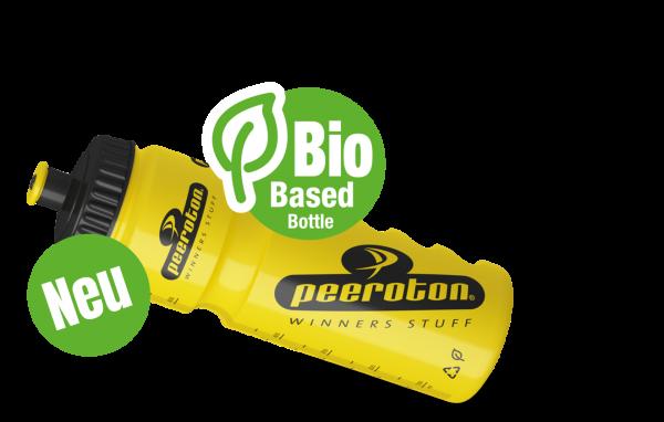 Biobased Peeroton Profitrinkflasche 750ml Gelb-Schwarz