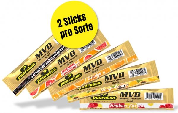 Peeroton MVD Mineral Vitamin Drink Probierset 10 Sticks