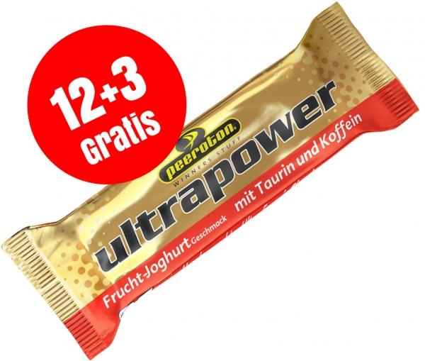 Ultrapower Riegel 70g Karton 12+3 Gratis